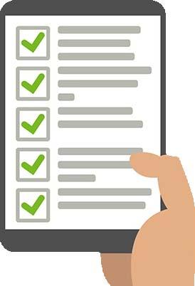 run a background check report